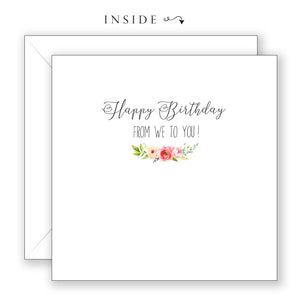 You Be You - Birthday Card