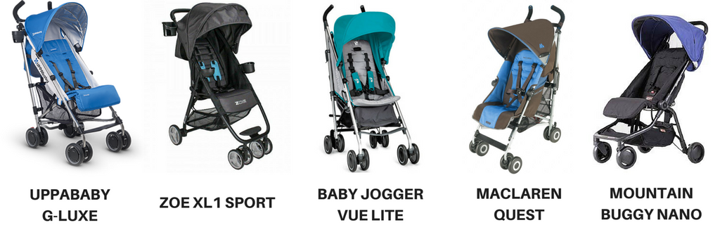 strollers for travelling