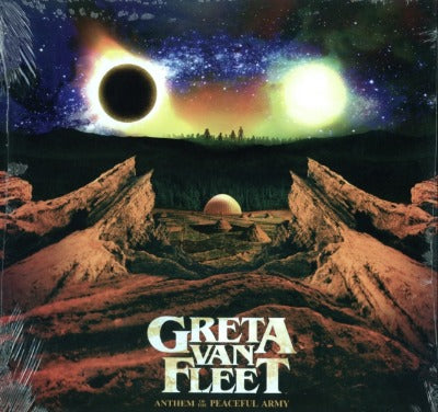 Greta Van Fleet - Anthem of the Peaceful Army album cover
