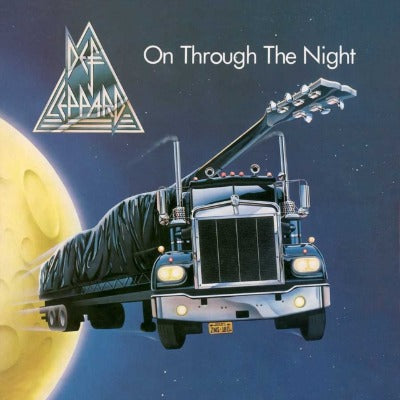 Def Leppard - On Through the Night album cover