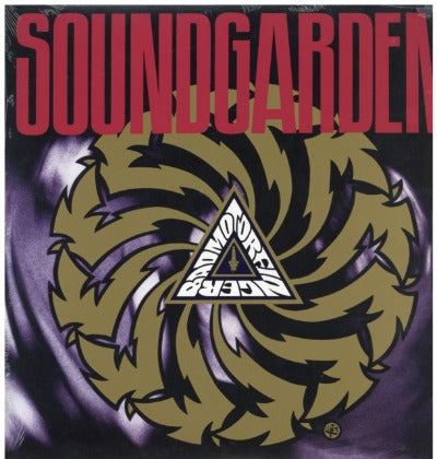 Soundgarden - Badmotorfinger album cover