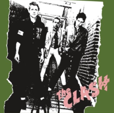 The Clash self titled album cover