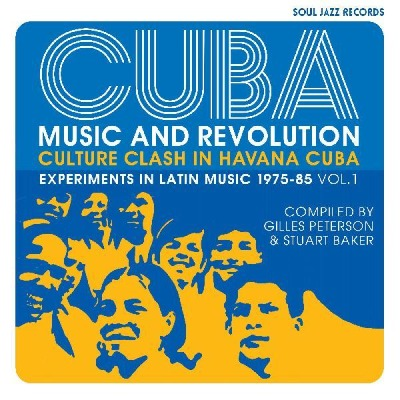 Cuba Music and Revolution compilation album cover