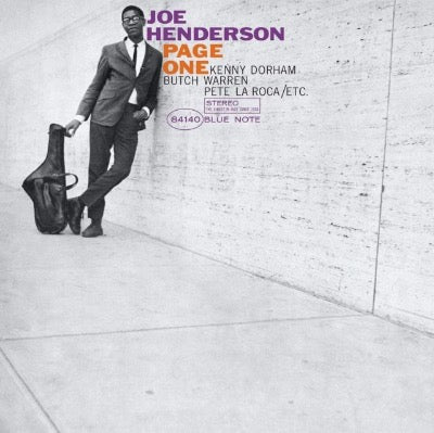 Joe Henderson - Page One album cover