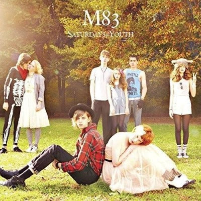 M83 - Saturdays = Youth album cover