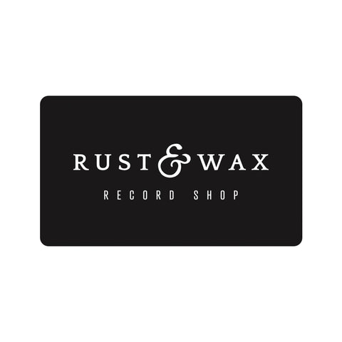Rust & Wax Record Shop e-Gift Card