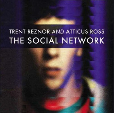 The Social Network movie score album cover