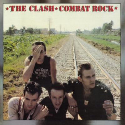 The Clash - Combat Rock album cover
