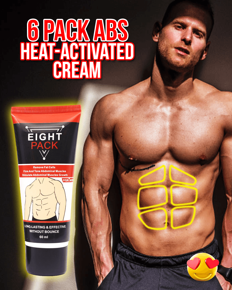 6 Pack Abs Heat-Activated Cream