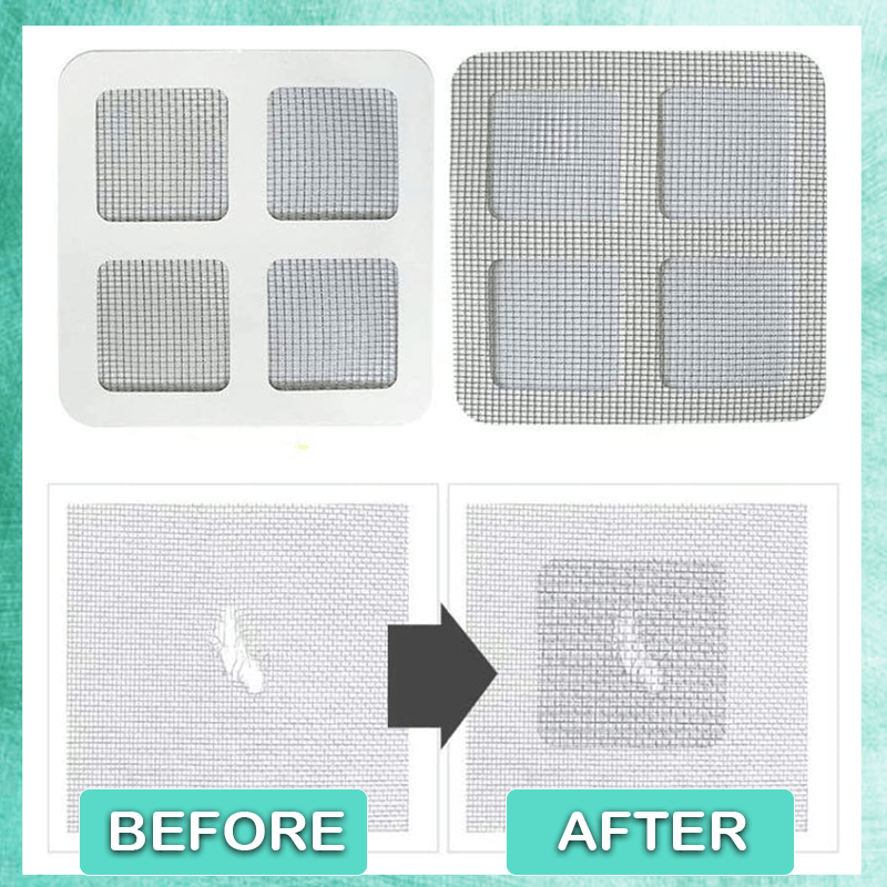Screen Window Repair Patch (10 Pcs)