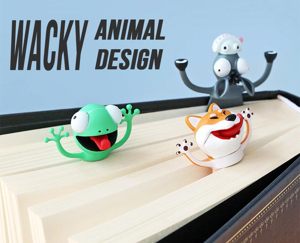 Wacky Animal Bookmark