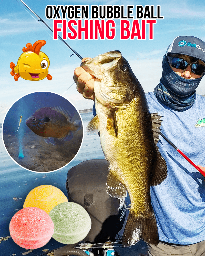 Oxygen Bubble Ball Fishing Bait