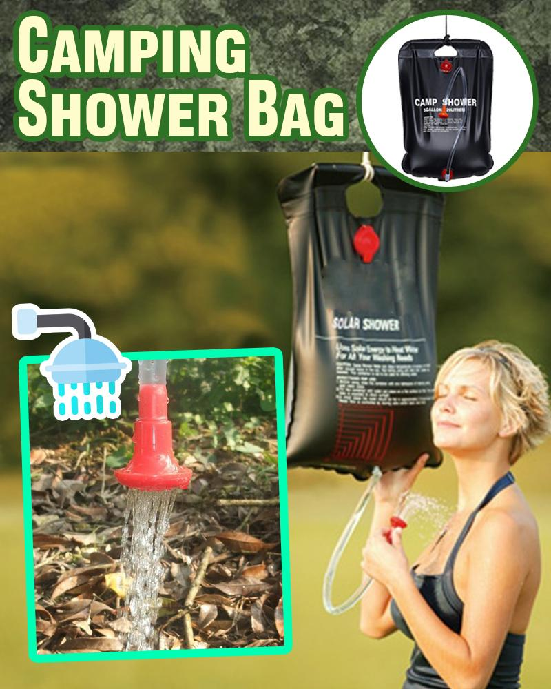 Camping Shower Bag LuminousUnicorn