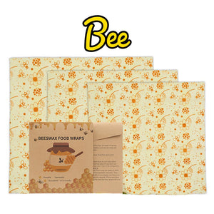 Reusable Beeswax Food Wraps LuminousUnicorn