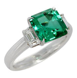 D'Deco's GIA Certified 2.78 carat Emerald Ring