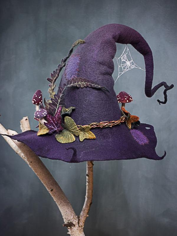 Halloween party Cotton-Blend Hats