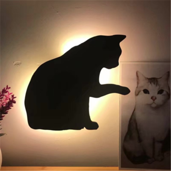 LED Light and Sound Control Silhouette Night Light