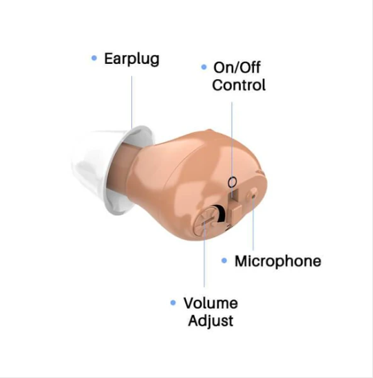 Rechargeable Invisible Hearing Aid(50%OFF)