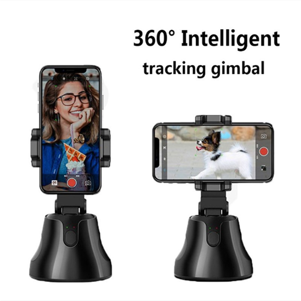 360 Rotation Auto Face Tracking Object Tracker Smart Shooting Camera Phone Holder