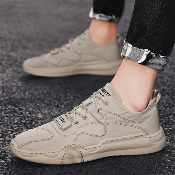 New elastic Cloth Canvas Shoes Breathable Vulcanized Men's Shoes Non-slip Casual Sports Shoes Designer Shoes Men's Dropshipping