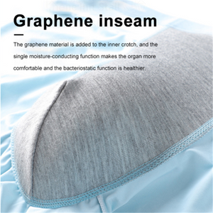 Graphene men's underwear particle massage