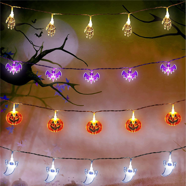 Halloween LED string lights