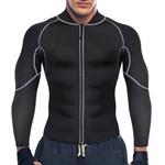 Men Neoprene Hot Sauna Jacket