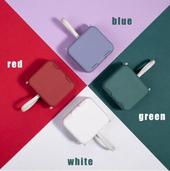 2020 new multi-function with own cord handbag back clip power bank