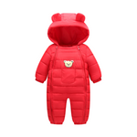 Baby go out windproof and warm down padded jacket