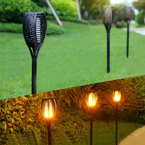 [Delivery within 7 days] The most realistic flashing flame light,make your garden more stunning at night.
