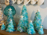 Christmas Sea Glass Tree