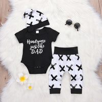 Handsome just like Dad outfit
