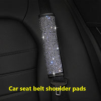 Luxury Crystals that Bling Auto Steering Wheel