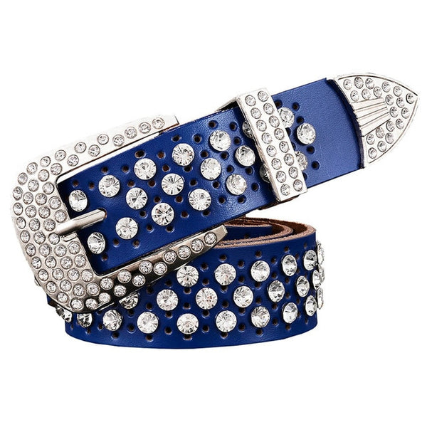 Luxury Rhinestone Belt