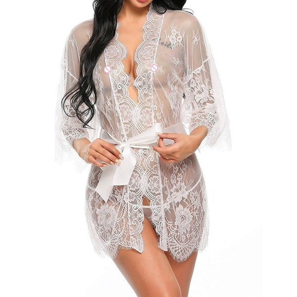 Lingerie Lace Robe