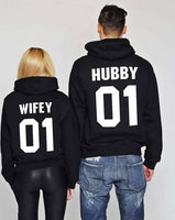 Hubby and Wifey Pullover Hoodie