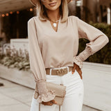 So Elegant Long Sleeve Blouses