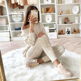 2 Piece Knit Sweat Outfit