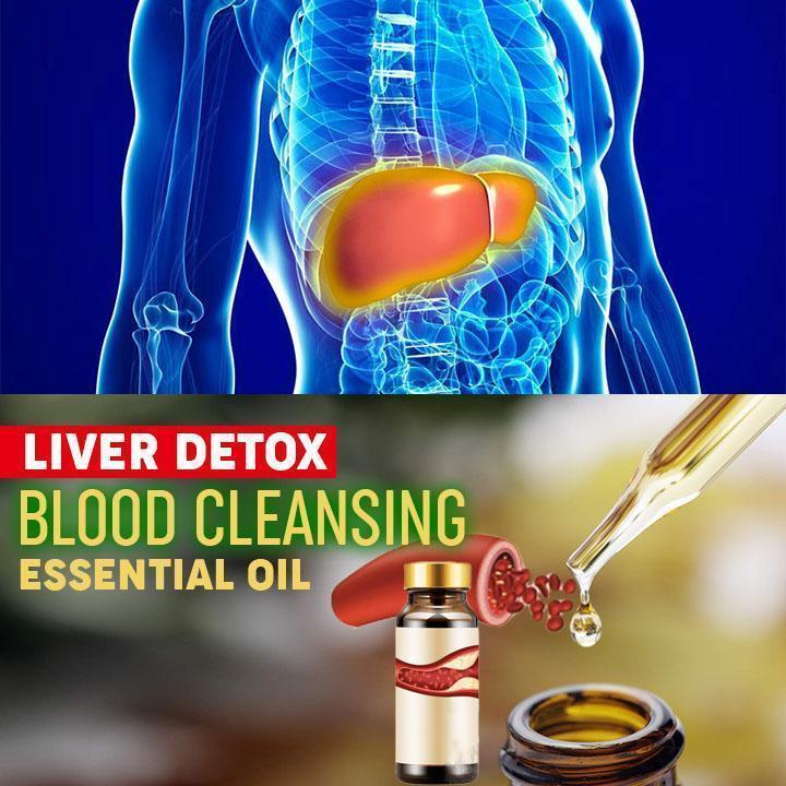 Liver Detox Blood Cleansing Essential Oil - Hazelnutway.us