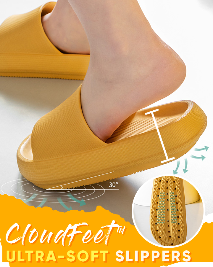 CloudFeet™ Ultra-Soft Slippers - Hazelnutway.us