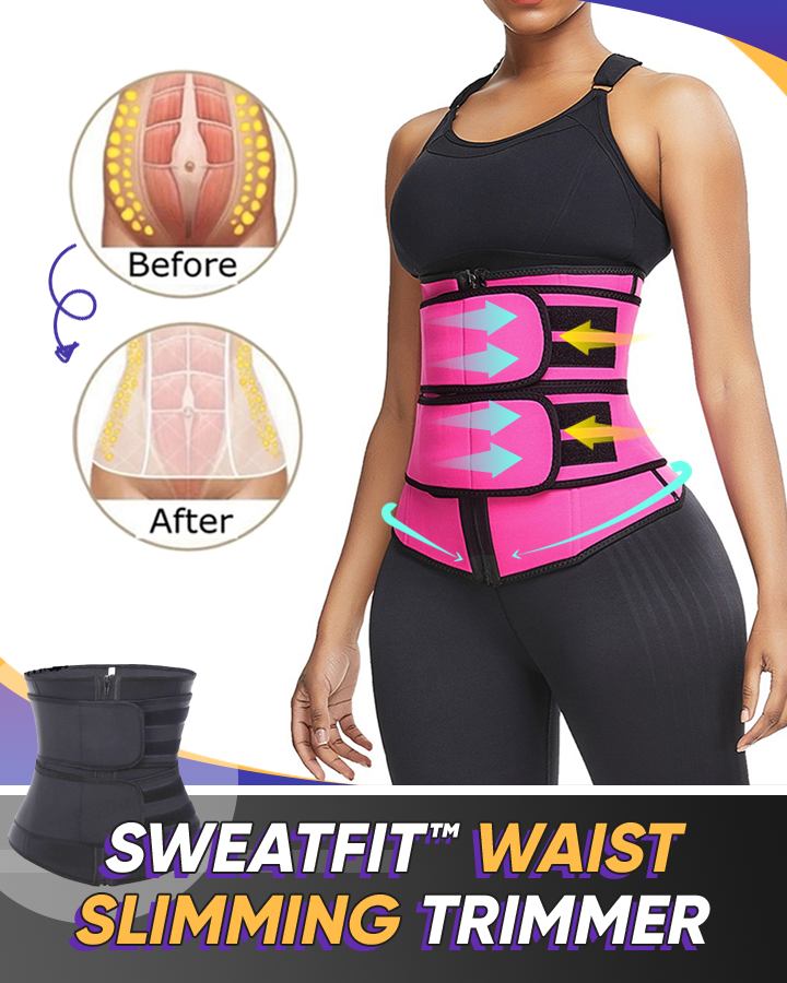 SweatFIT™ Adjustable Waist Slimming Trimmer - Hazelnutway.us