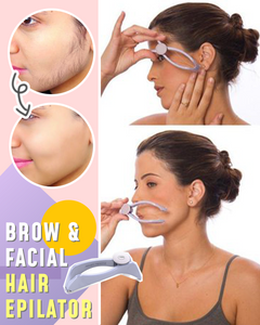 Brow & Facial Hair Epilator - Hazelnutway.us