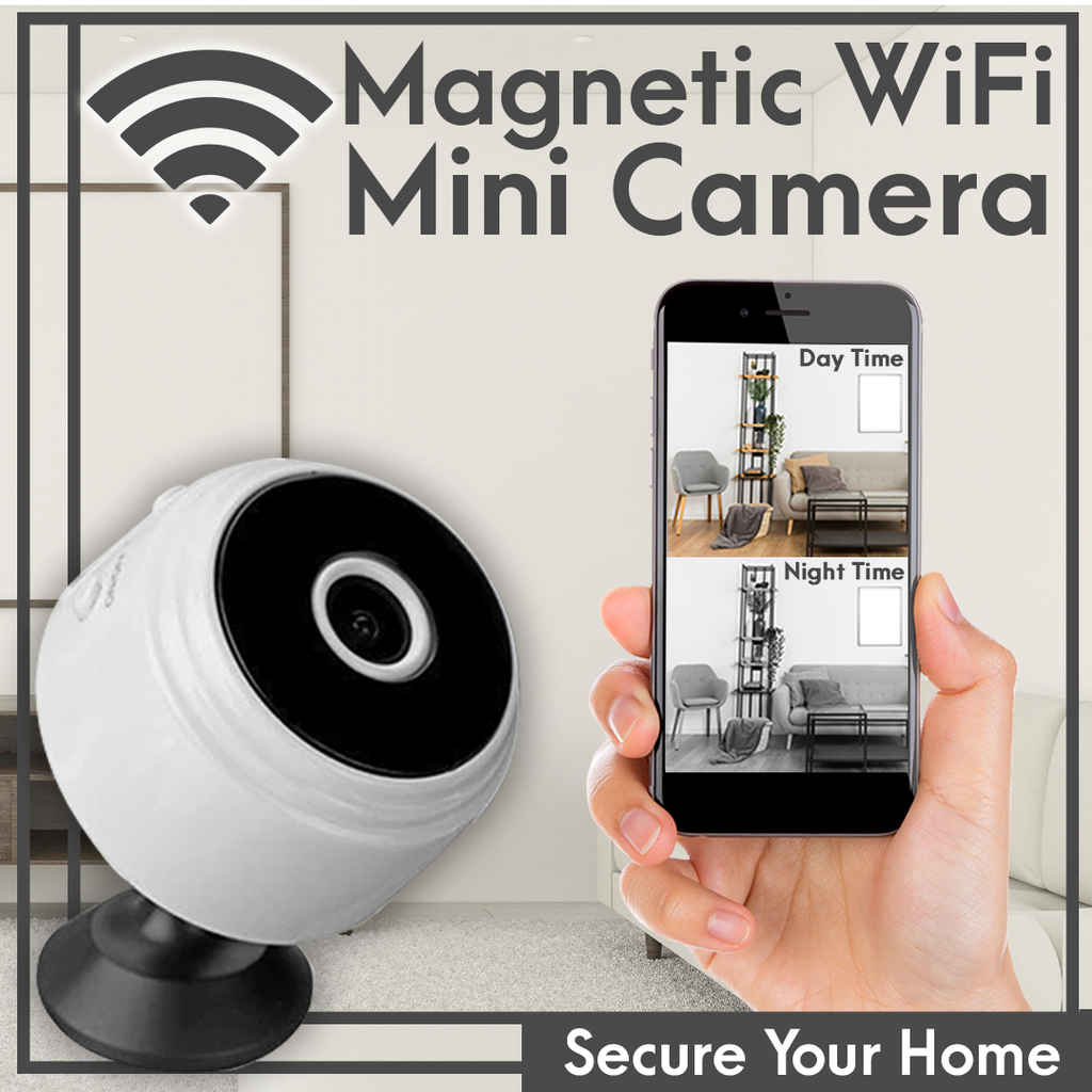 1080p Magnetic WiFi Mini Camera - Hazelnutway.us