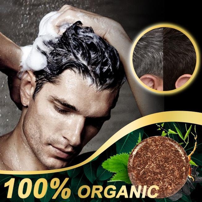 Organic Hair Darkening Shampoo Bar - Hazelnutway.us