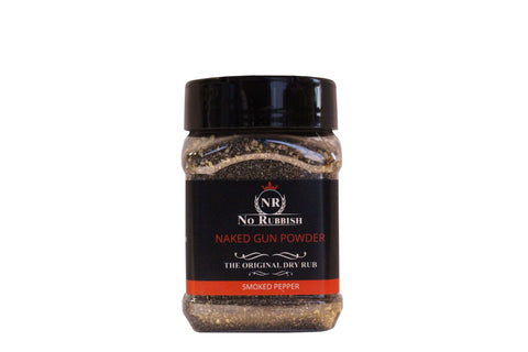 Naked gunpowder rub