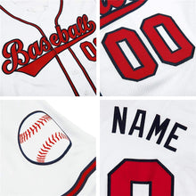 Load image into Gallery viewer, White Together Since Baseball Jersey
