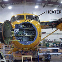 Xtreme Heaters Helping Research Planes For The Canadian Armed Forces.