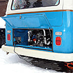 Keeping A VW Bus Warm In The Mountains Of Colorado With The Xtreme Heater