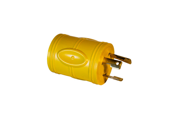Marine Plug Adapter 30A 125V Male to 15A 125V Female