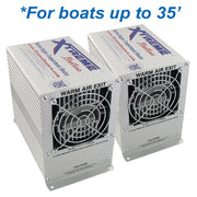 TWO Xtreme Heaters Large 600W XXXHEAT-Boat Bilge Heaters